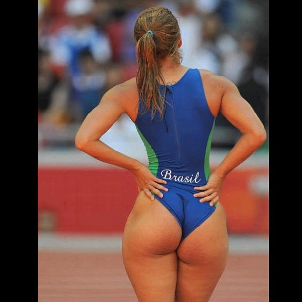 Gotta love the #olympics #women #whoa #sports #sexy #phat #nice #booty #cheeks #chicks #brazil #sprint #runner #really #uniform #team #winner (Taken with Instagram)