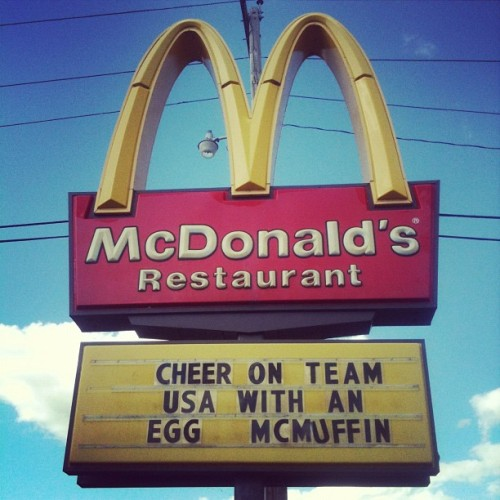 Spooner, Wisconsin (Taken with Instagram at McDonald's)