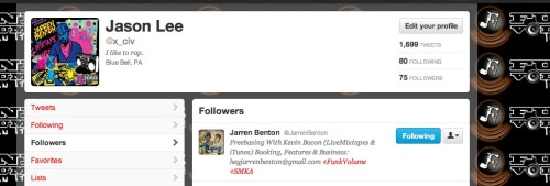 JARREN BENTON FUCKING FOLLOWING ME ON TWITTER FUCKASNDKQDKLQWHD DIDH QIH QLDWHQIDHQD