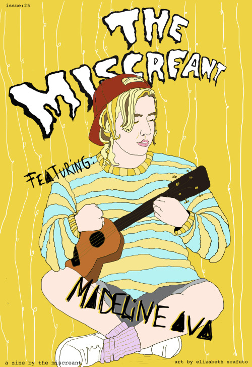 Issue 25 of the Miscreant is now available for download! Click here to read and enjoy. In this issue:  Dean's hand-written interview with Madeline Ava, Kyle's list of concerts he wishes he hadn't dragged his parents to, Cassandra's highs and lows of Pitchfork Music Festival, Matt's preview of the upcoming Title Fight record, Caitlin's thoughts on the Coachella cruise, Vance's hypothesizing on why he loves boobs and Al Green, 90s nostalgia from Kenzie, Sean's coverage of a recent Portugal the Man performance, Andrew's non defense of Daniel Tosh, Chelsea's story about changing her favorite rapper, more on life in Brooklyn from the British Miscreant & more!!!
