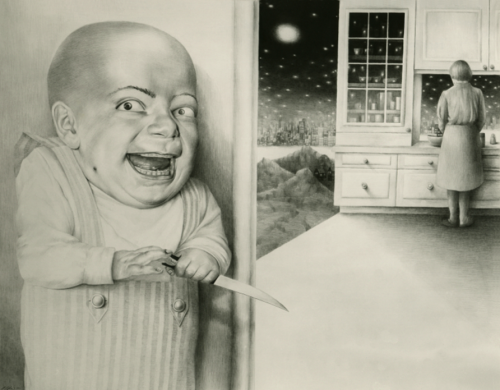 Last Night I Dreamt I Murdered by Laurie Lipton