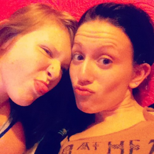 me+my sister are like, so smokin! (Taken with Instagram)