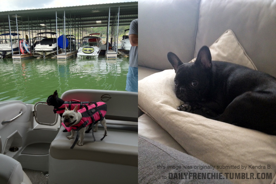 Sophie and Zoe going boating! And resting afterwards. by Kendra