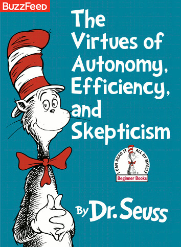 If Dr. Seuss Books Were Titled According to Their Subtexts