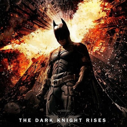 Dark Night Rises Movie Poster (Taken with Instagram)