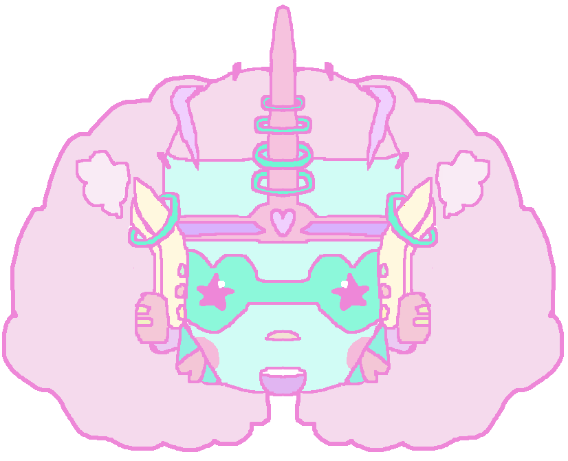 rotting:  Inspired by Milkbbi's mask logo!  ^_________^