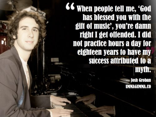 braindr0ppings:  RIGHT?!   I thought I liked Josh Groban…now I am madly in love with him