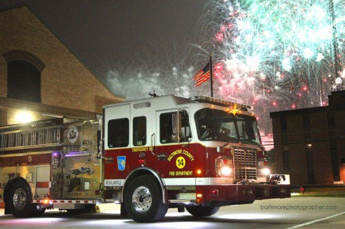 policecars:  Baltimore County Fire Department, 4th of July