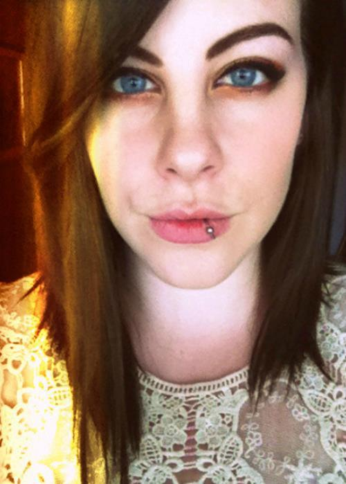 Name: Jenn Age: 19 City: Columbus, Ohio Piercings Shown: Lip Piercings Not Shown: Earlobe, cartilage, conch, tragus, nape Retired Piercings: Naval, industrial  Submitted by theskywasjustaceiling