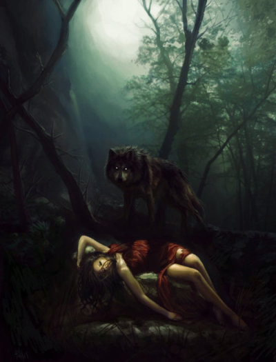 danalakat:  Poor RED always that ONE wolf….