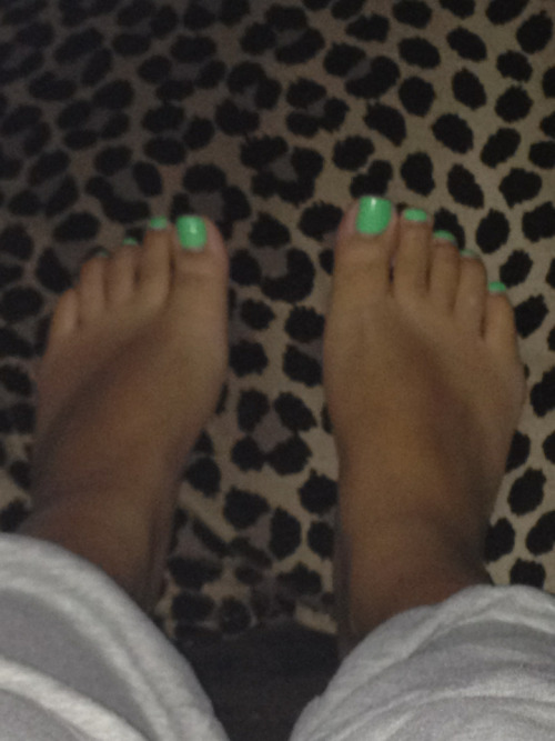 My poor pregnant feet. Getting wider by the day :(