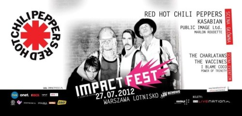 Hey! I've recently been to music festival in Poland called ImpactFest and I have to admit that although it is the first edition of this event it was just brilliant. Can you imagine such a great bands and artists as PIL, Marlon Roudette, The Vaccines, The Charlatans, I blame Coco, Kasabian and RHCP playing one day?!
