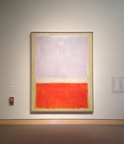 listeningstill:  travisleegrant: Rothko at the Hood Museum of Art
