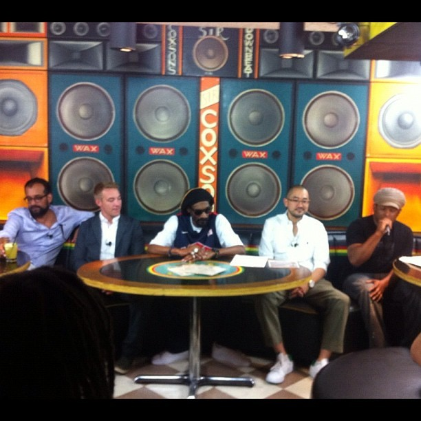 #reincarnated press conference. #snooplion  (Taken with Instagram)