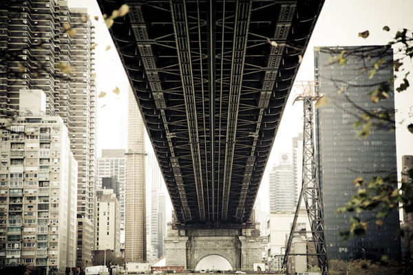 Crossing Queensboro Bridge, New York City by Matt Mawson