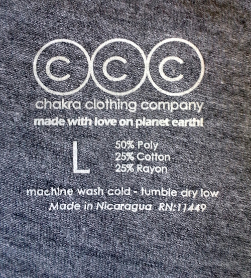 We have labels… I guess that means we exist!!! http://www.chakrawear.com is up and running. Look out tomorrow for a special launch coupon!