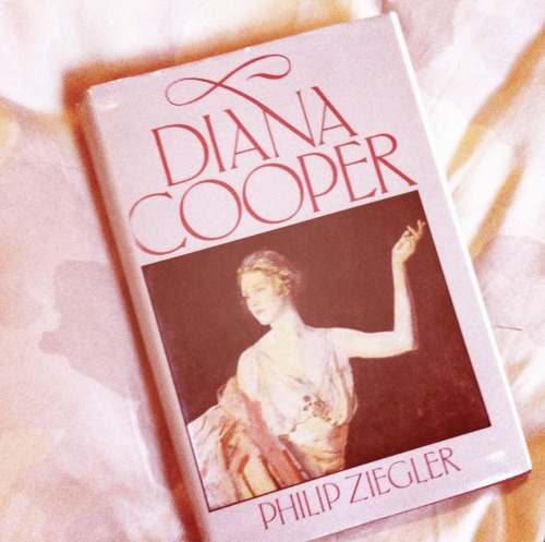 diving in the biography of lady diana cooper, an important style icon of the 20th century, wife of the england ambassador duff cooper.