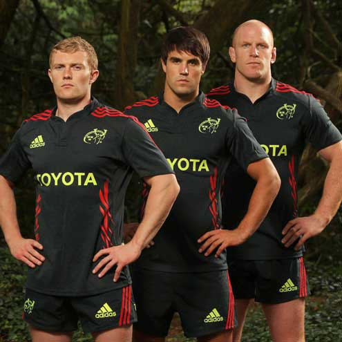 Munster's new kit