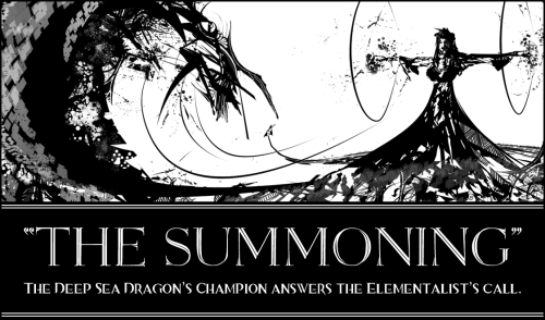 The Summoning - Guild Wars 2 I finished up the previous FB cover photo, and turned it into the Guild Wars 2 hommage it was on its way to becoming. Cannot wait until the 28th!  Hit the link below for more info on what's happening in the pic.