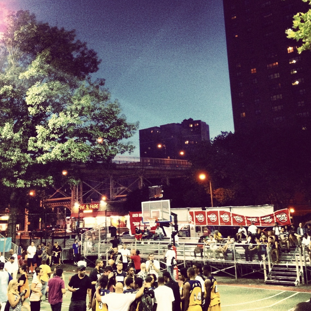 Doin' It In the Park / Rucker Park / 155th St & Frederick Douglas Blvd / Harlem, NYC / 07.14.12 / 8:30PM