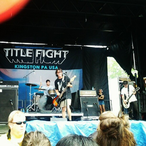defeat-the-low:  Title Fight