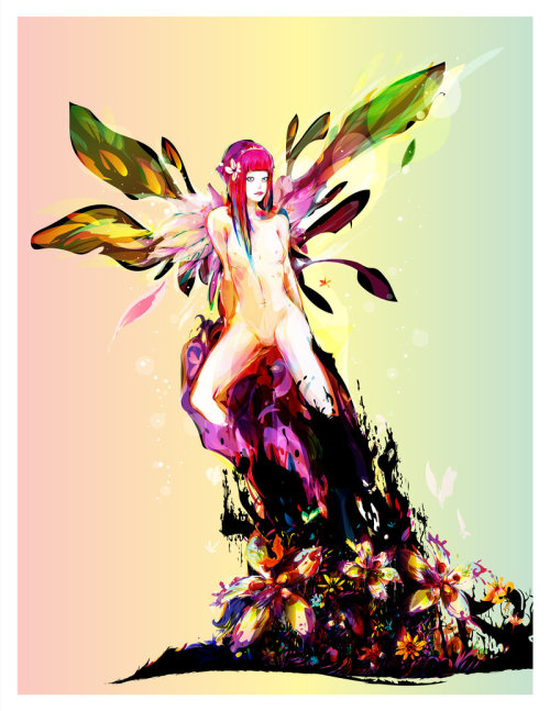 """Spring Fairy"" by bboypion"