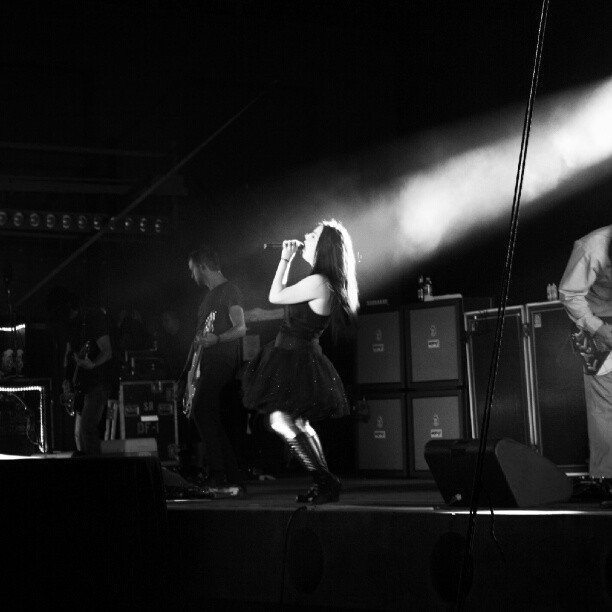 throwback #2011 #evanescence (Taken with Instagram at Sunken Garden Theatre)