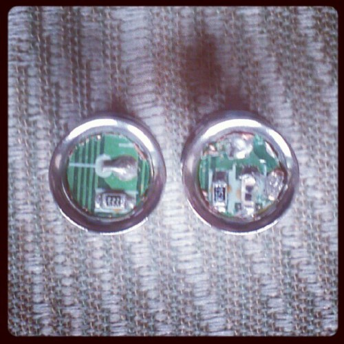 0g df cyber plugs for Darren (Taken with Instagram)