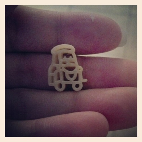 @outsidethegemstones it's #guido in #macaroni form. #cars #disney #pixar  (Taken with Instagram)