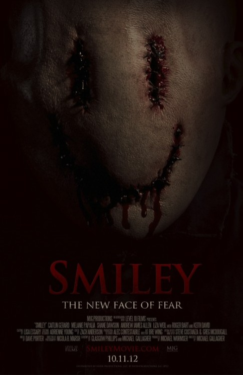 horrorfilmposters:  Smiley (2012)