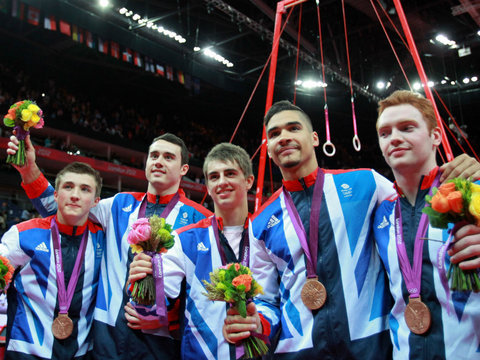 Congrats Team GB for winning bronze on home turf!