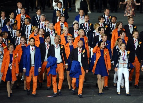 mypantalones:  The Dutch Olympic Team, outfitted by none other than Suitsupply.