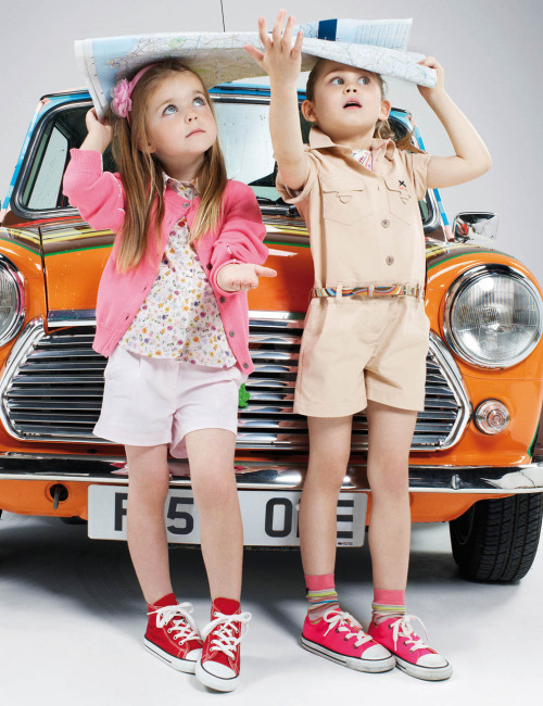 Cutest summer outfits for little girls. Complete with Converse kicks :)