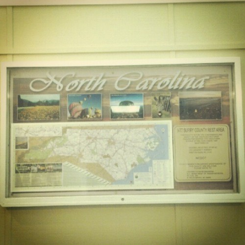 We alllmost home. #roadtrip #nc  (Taken with Instagram)