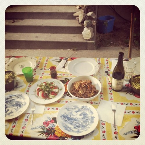 Dinner with friends (Taken with Instagram)