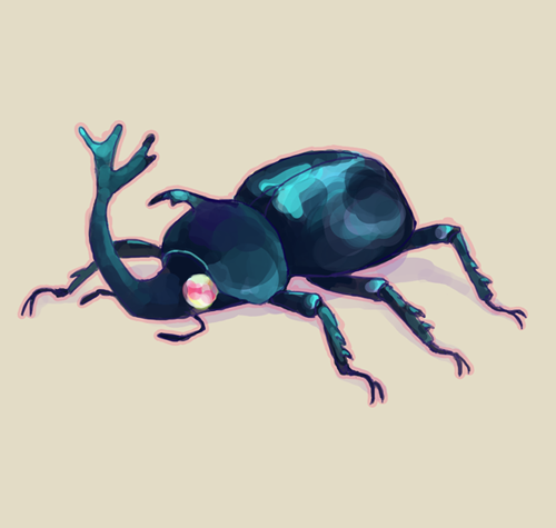 Beetles are adorable!