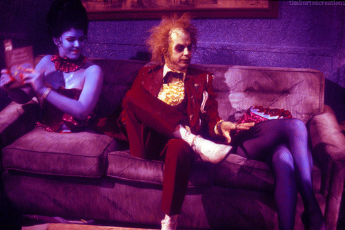 timburtoncreations:  Beetlejuice