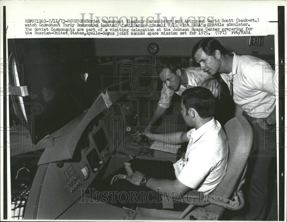 Remember when Dave Scott was in line to be on the space shuttle? 1973.