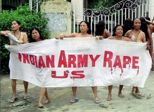 Indian Army Rape Us