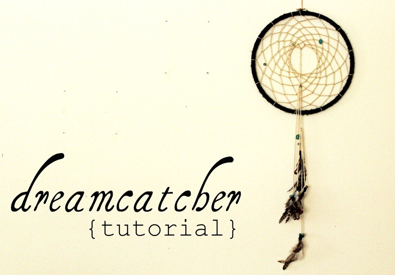 How to make your own dreamcatcher.