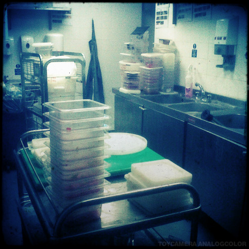 157/366 Lot of washing up/cleaning to do before home time.