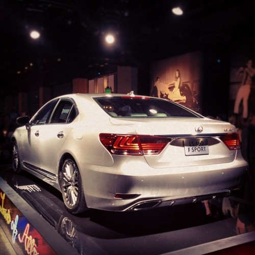 Check the newly unveiled Lexus LS 460 F sport #LexusAttracts (Taken with Instagram at Metreon)