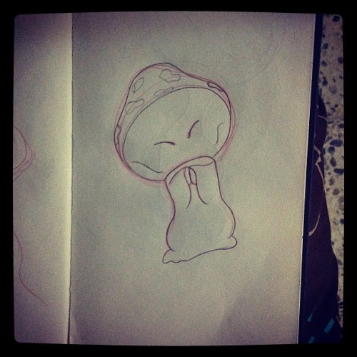 Disney's Fantasia mushroom #disney #fantasia #mushrooms #shrooms (Taken with Instagram)