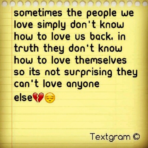 Lessons in Love., #Lessons in #Love #Textgram  (Taken with Instagram)