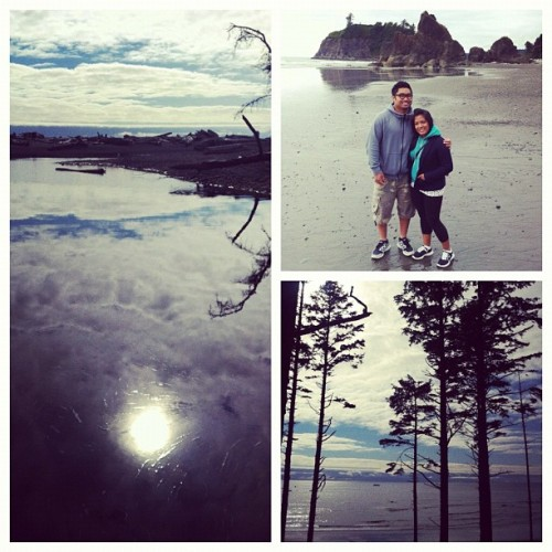 Ruby beach is my new favorite WA beach :) #summer @jon_abari  (Taken with Instagram)