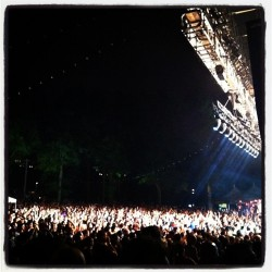 Wilco loves you Brooklyn.  (Taken with Instagram at Celebrate Brooklyn! / Prospect Park Bandshell)