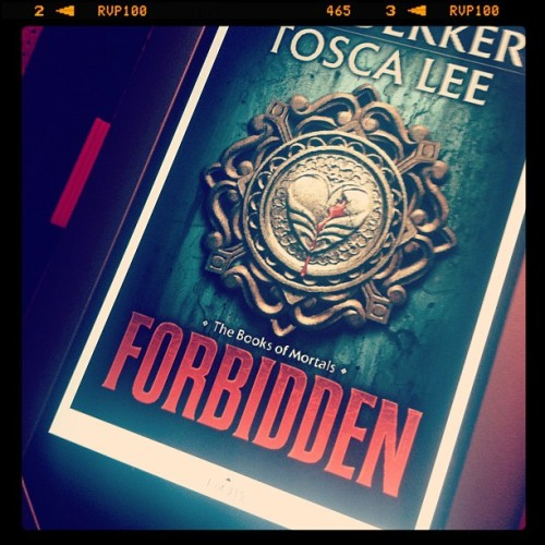 Time for a new book. #forbidden (Taken with Instagram)