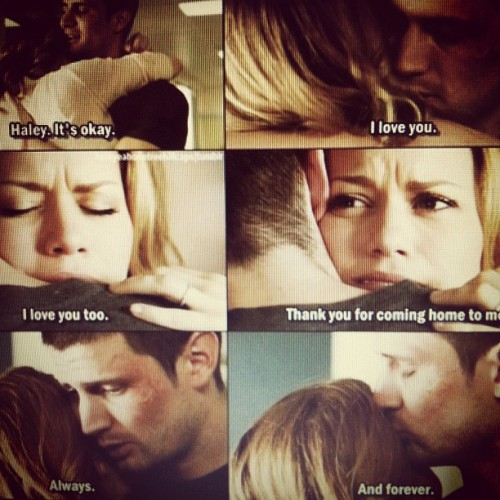 Always loved their love. It conquered all <3 #inspiration #OneTreeHill #favorite (Taken with Instagram)