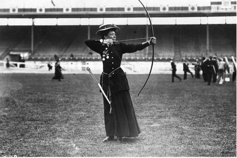 Beatrice Hill-Lowe was the bronze medal winner in archery in the 1908 London Olympics.