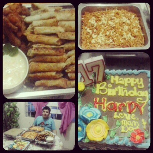 My Baby Bro's day (Taken with Instagram)